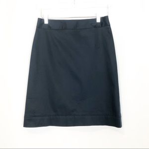 Brooks brothers navy career skirt size 6